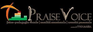 logo PraiseVoice di Tyna Maria